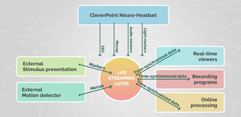 Написаны драйвера для Lab Streaming Layer